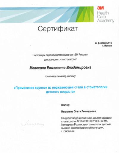 Melehina-sertificate4